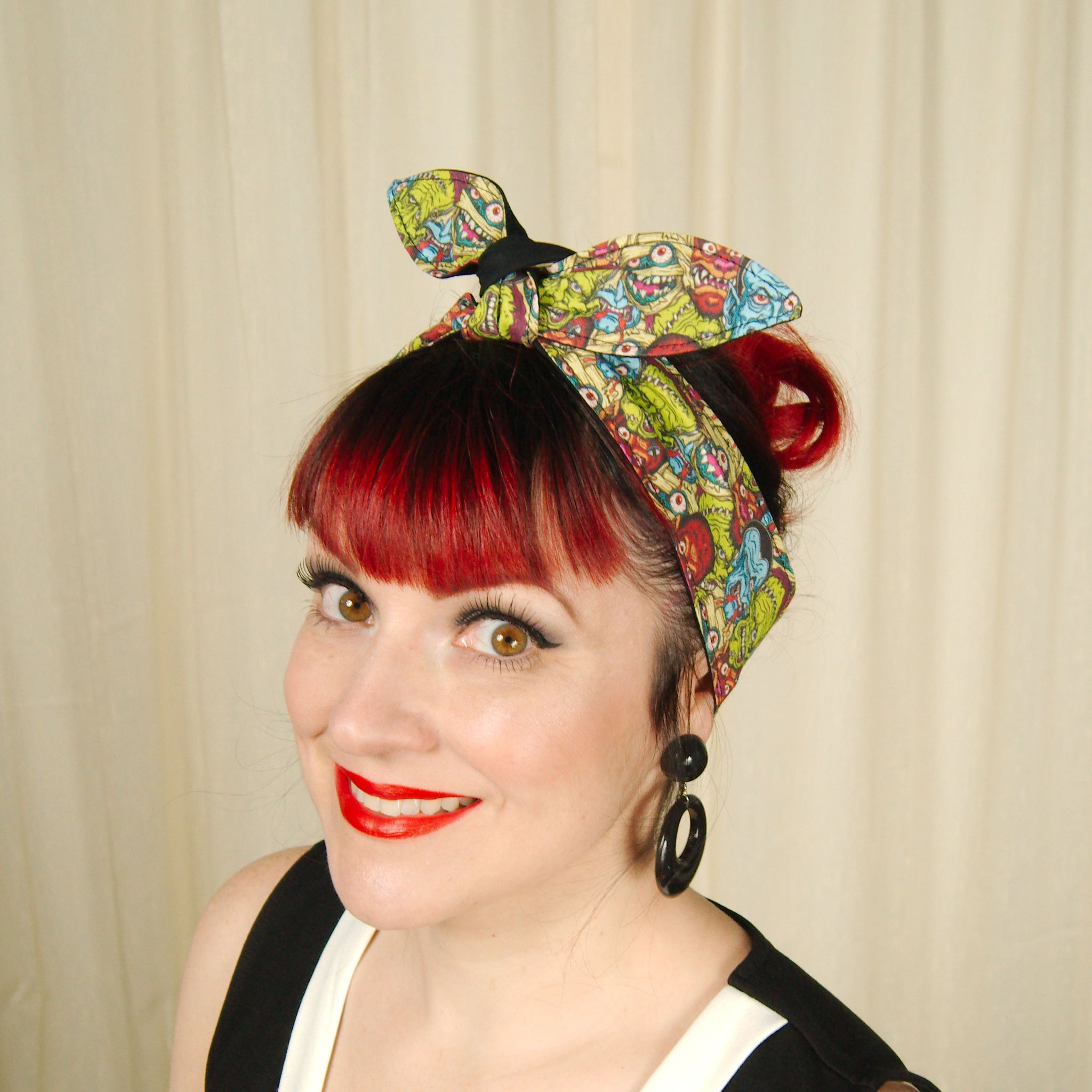 Monster Mash Hair Tie by Krampus Cuties : Cats Like Us