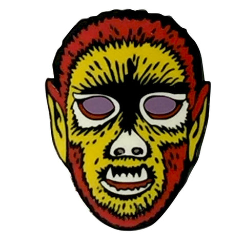 Electric Wolfman Pin