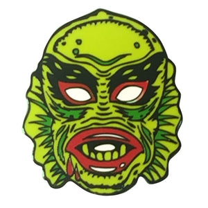 Fish Face Creature Pin
