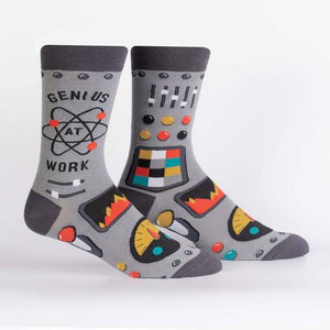 Genius at Work Crew Socks