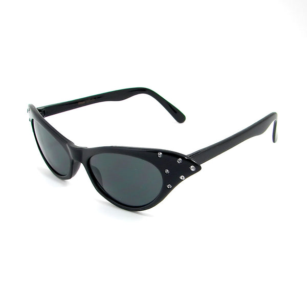 Hot Rod Black Cat Eye Sunglasses - Cats Like Us