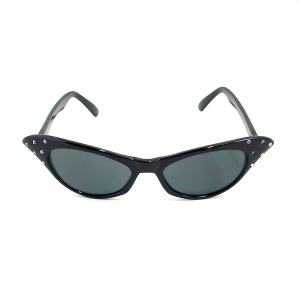 Hot Rod Black Cat Eye Sunglasses