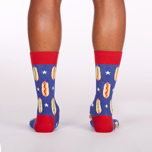 Foot Long Hot Dog Crew Socks