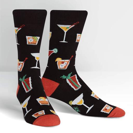 Socktail Hour Drink Crew Socks