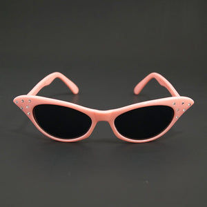 Poodle Pink Cat Eye Sunglasses - Cats Like Us