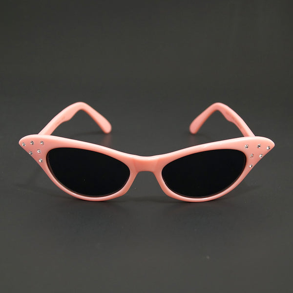 Poodle Pink Cat Eye Sunglasses