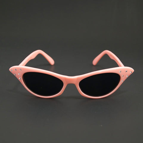 Poodle Pink Cat Eye Sunglasses by Cruisin USA