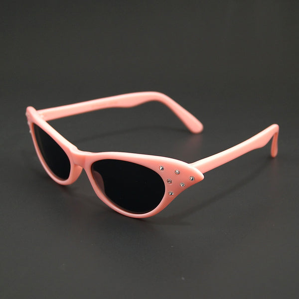 Cruisin USA Poodle Pink Cat Eye Sunglasses for sale at Cats Like Us - 2