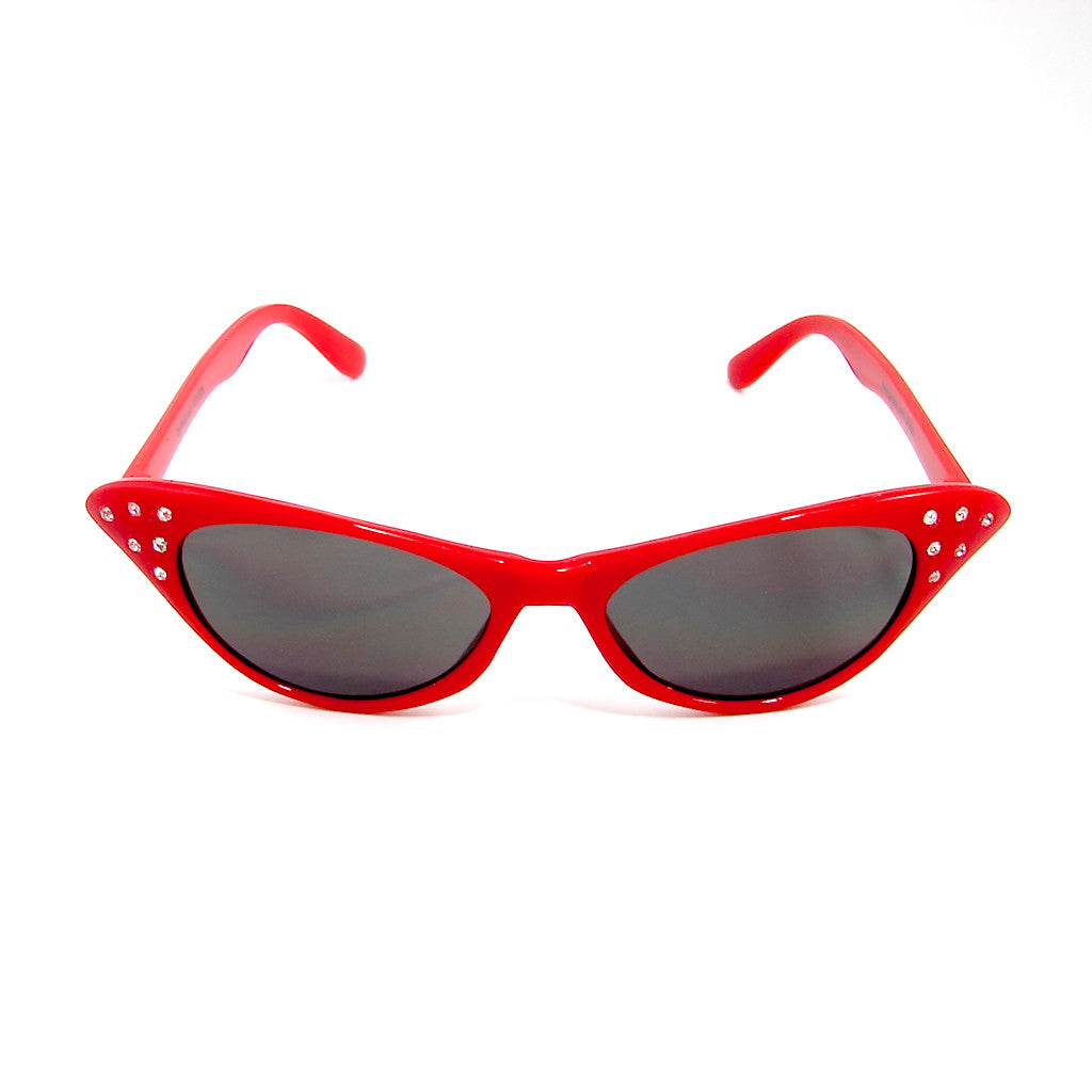 Siren Red Cat Eye Sunglasses - Cats Like Us