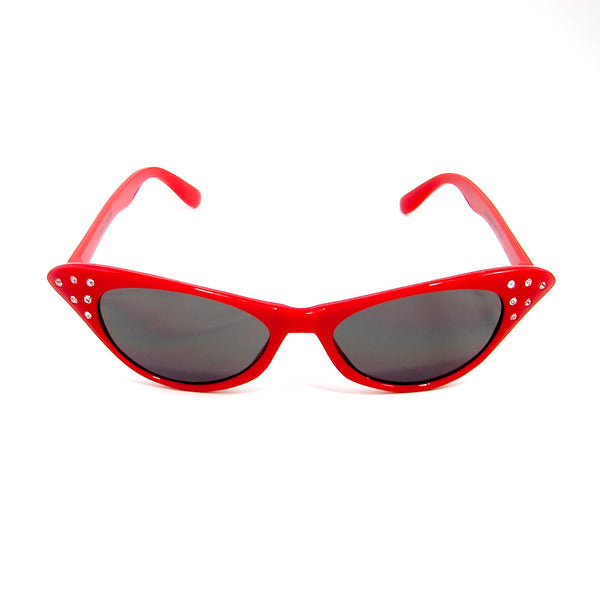 Cruisin USA Siren Red Cat Eye Sunglasses for sale at Cats Like Us - 1