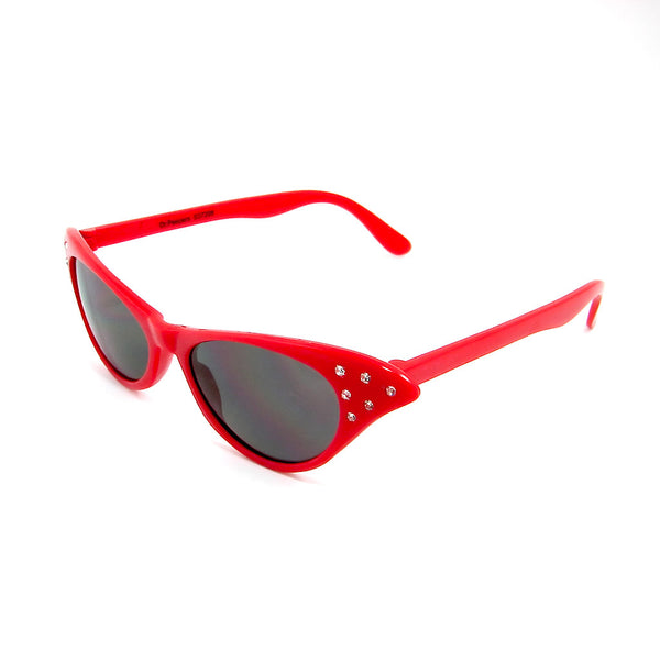Cruisin USA Siren Red Cat Eye Sunglasses for sale at Cats Like Us - 2