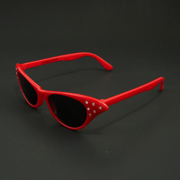 Cruisin USA Siren Red Cat Eye Sunglasses for sale at Cats Like Us - 5