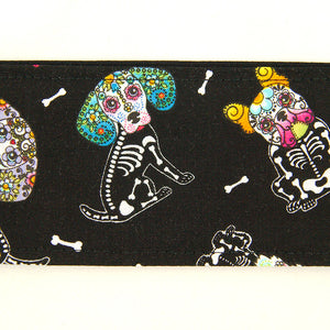 Sugar Skull Puppies Hair Tie