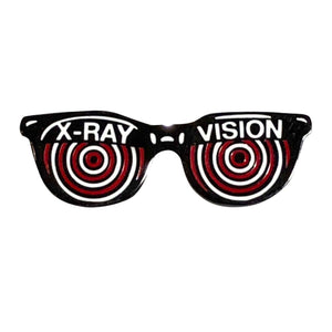 X-Ray Specs Glasses Pin