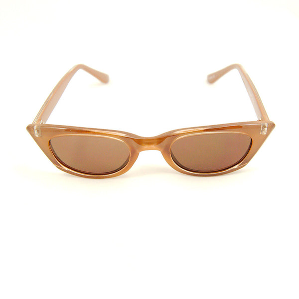 Brown Dragon Lady Sunglasses