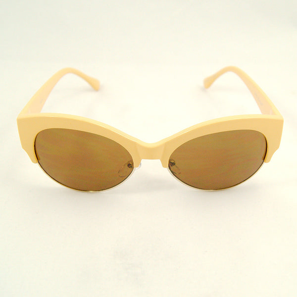 Yellow Mega Bucks Sunglasses - Cats Like Us
