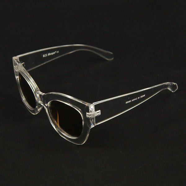 Clear Maxi Taxi Sunglasses - Cats Like Us