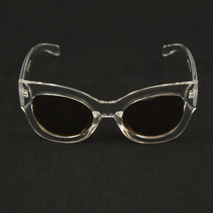 Clear Maxi Taxi Sunglasses by AJ Morgan : Cats Like Us