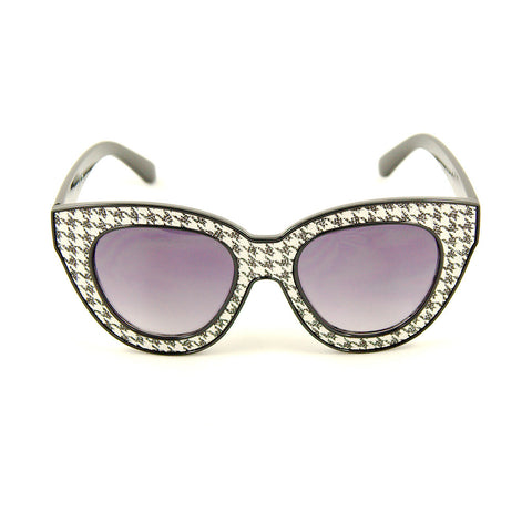 Houndstooth Missy Sunglasses - Cats Like Us