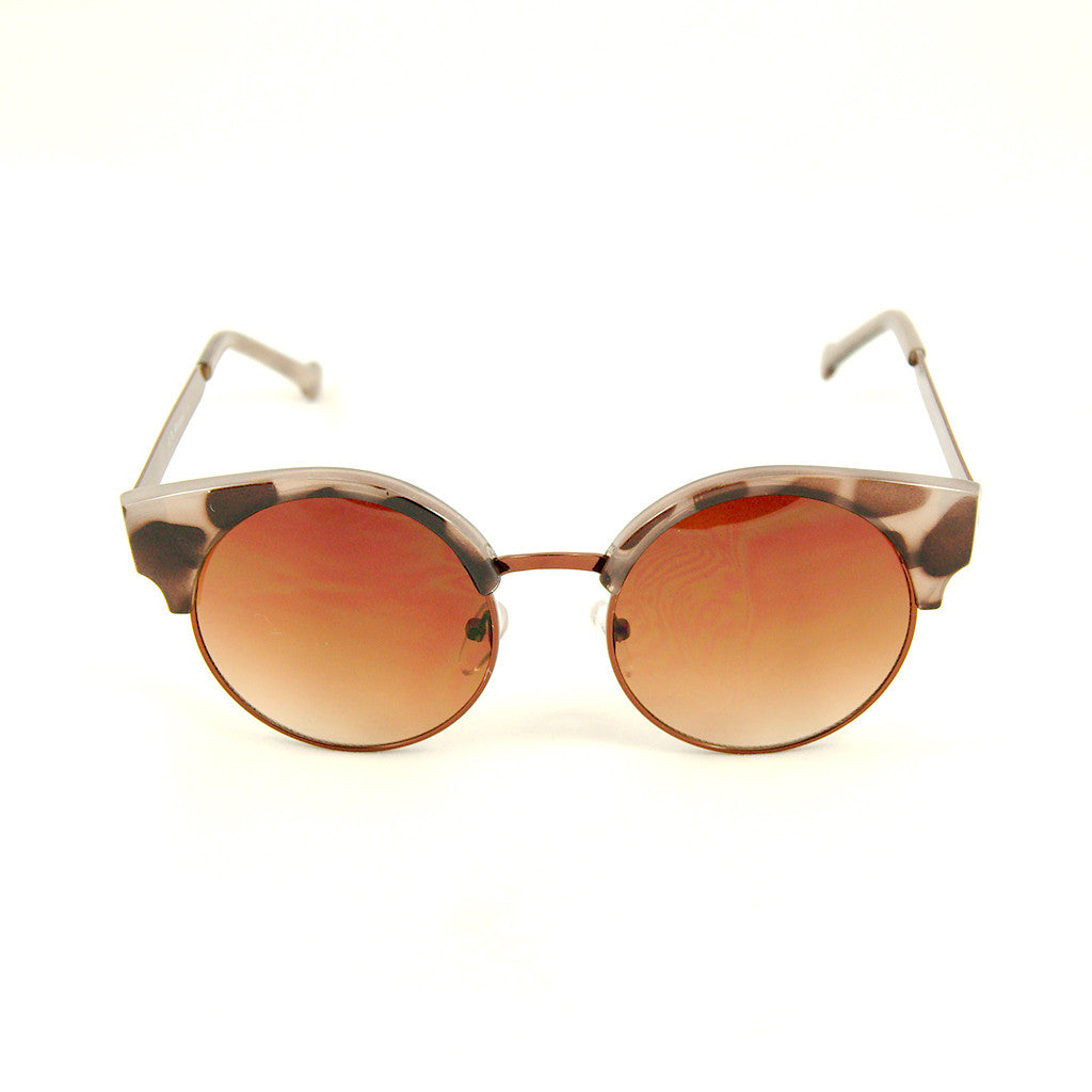 Leopard Round Ellie Sunglasses by AJ Morgan : Cats Like Us