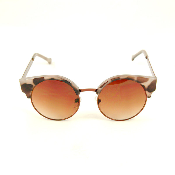 Leopard Round Ellie Sunglasses - Cats Like Us