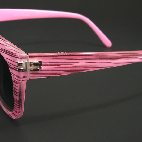 AJ Morgan Pink Stripe Charmer Sunglasses for sale at Cats Like Us - 3