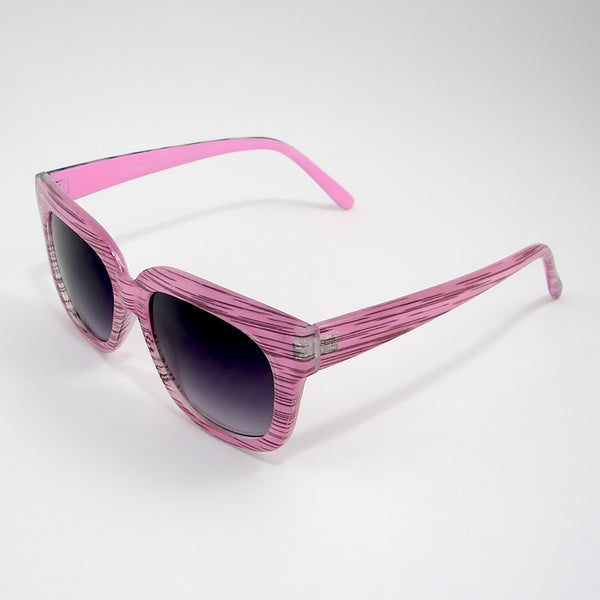 AJ Morgan Pink Stripe Charmer Sunglasses for sale at Cats Like Us - 2