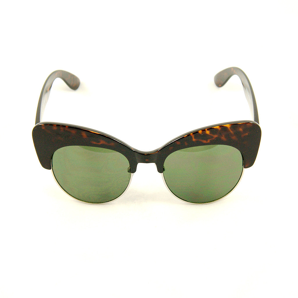 Tort Sass Cateye Sunglasses - Cats Like Us