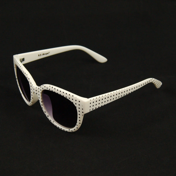 AJ Morgan White Ciao Sunglasses for sale at Cats Like Us - 2