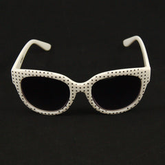 White Ciao Sunglasses