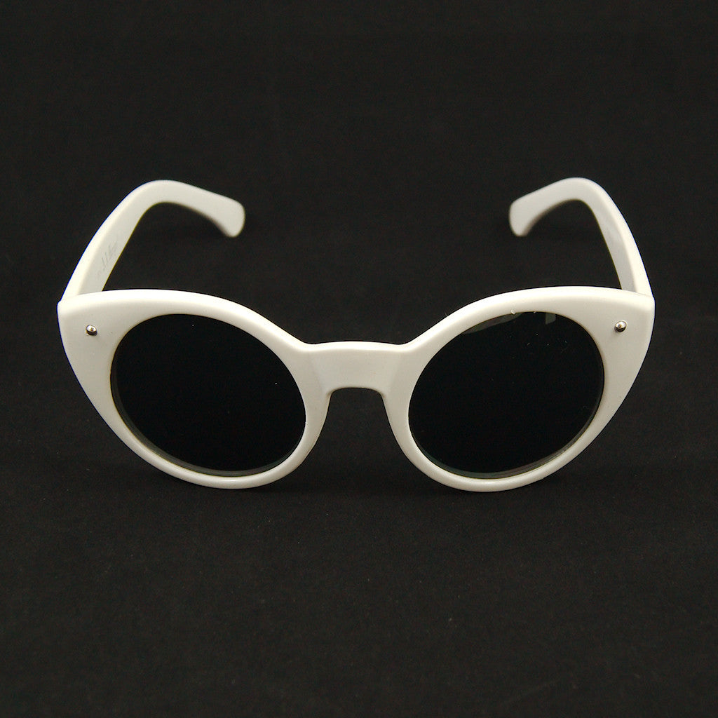 AJ Morgan White Lady Luck Sunglasses for sale at Cats Like Us - 1
