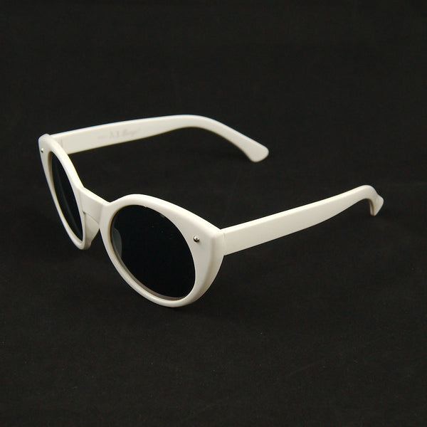 AJ Morgan White Lady Luck Sunglasses for sale at Cats Like Us - 2