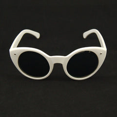 White Lady Luck Sunglasses