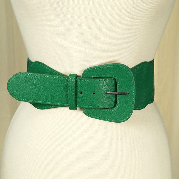 Green Pinup Cinch Belt by Apple Accessories : Cats Like Us