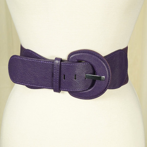 Purple Cinch Belt by Apple Accessories : Cats Like Us