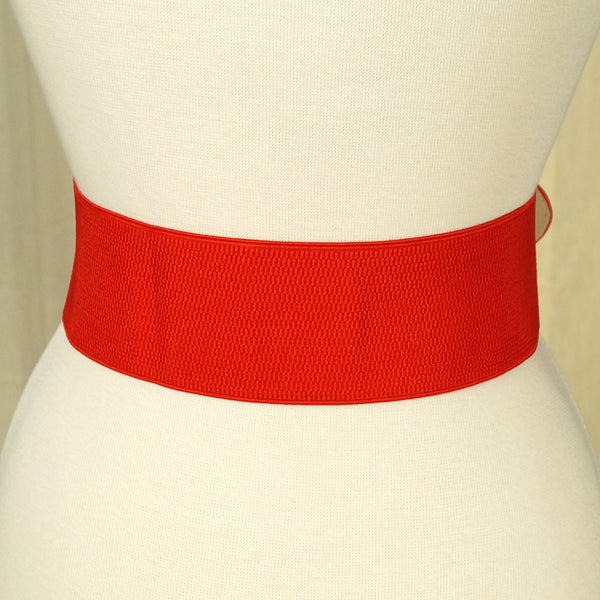 Red Pinup Cinch Belt by Apple Accessories : Cats Like Us