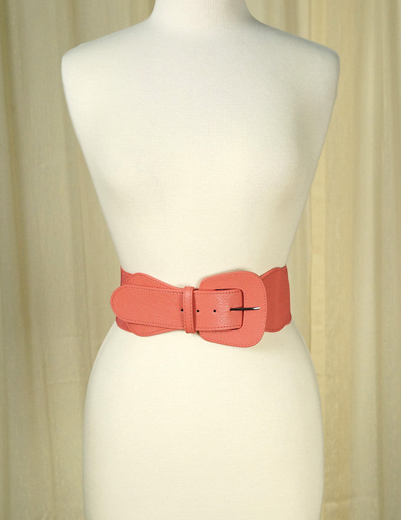 Rose Pink Pinup Cinch Belt by Apple Accessories : Cats Like Us