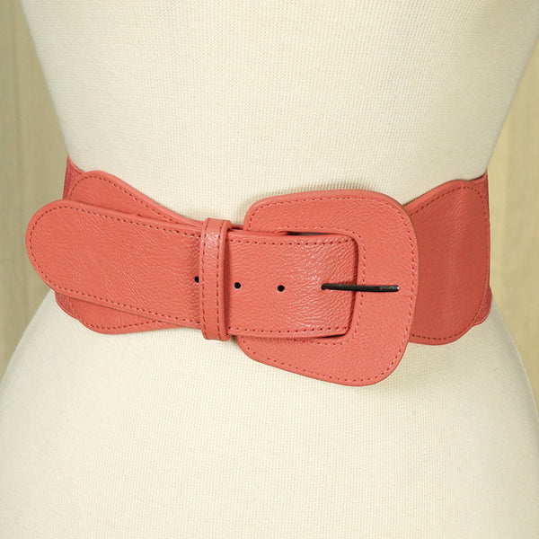 Apple Accessories Rose Pink Pinup Cinch Belt for sale at Cats Like Us - 2
