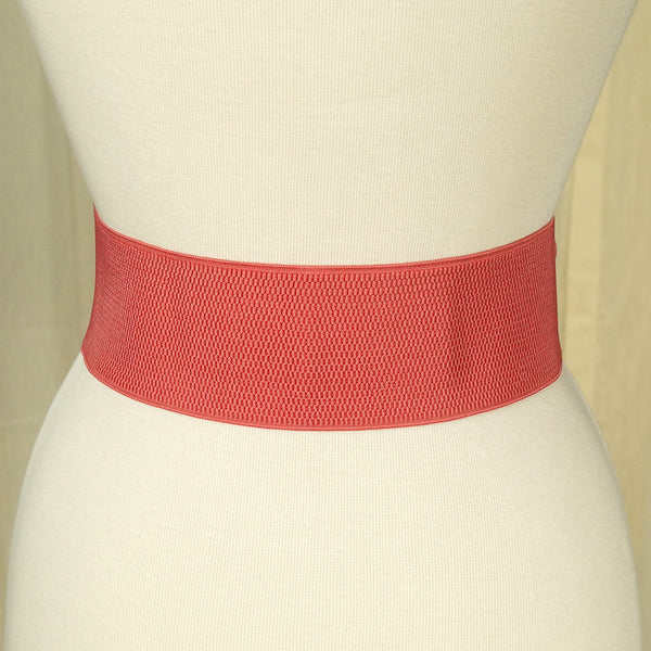Rose Pink Pinup Cinch Belt - Cats Like Us