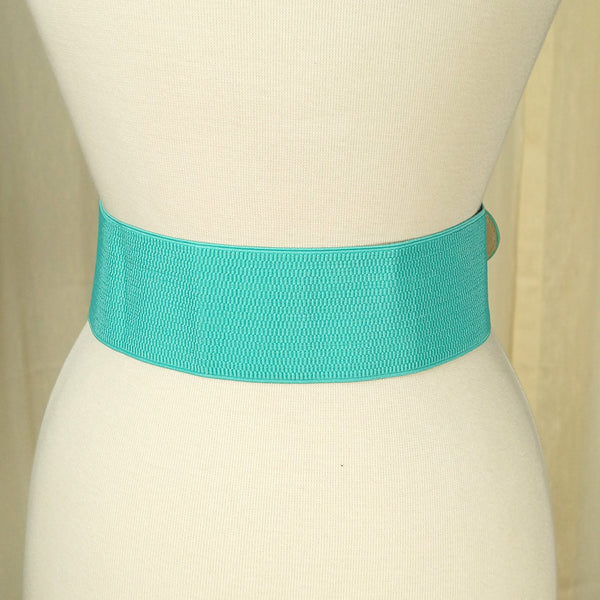 Apple Accessories Turquoise Pinup Cinch Belt for sale at Cats Like Us - 3