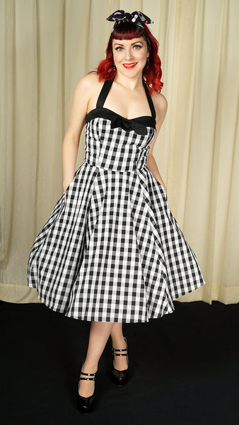 Dancefloor Doll Swing Dress - Cats Like Us