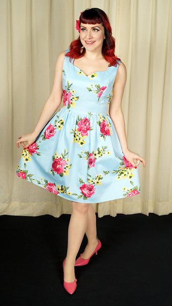 Sweetheart Floral Dress by Eva Rose : Cats Like Us