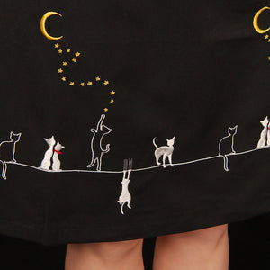 Cats on a Hot Tin Roof Skirt by Banned Apparel Inc : Cats Like Us