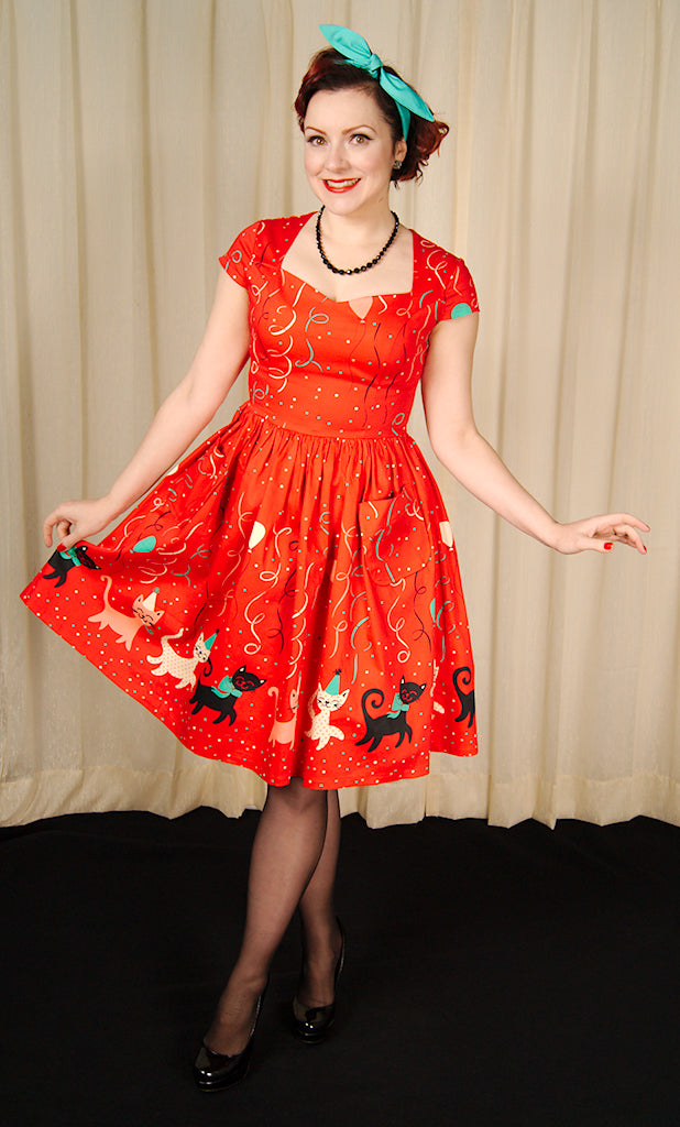 Kitten Freedom Party Dress by Banned Apparel Inc : Cats Like Us