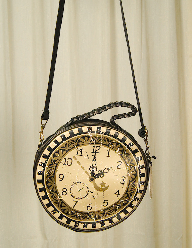 Times Flies Clock Messenger Bag by Cats Like Us : Cats Like Us