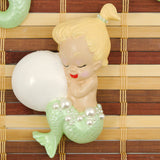 Lime Blonde Baby Mermaid Set - Cats Like Us