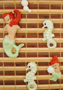 Lime Redhead Mermaid Deluxe by Barbie K : Cats Like Us