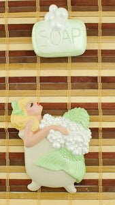 Lt Green Blonde Bathing Beauty by Barbie K