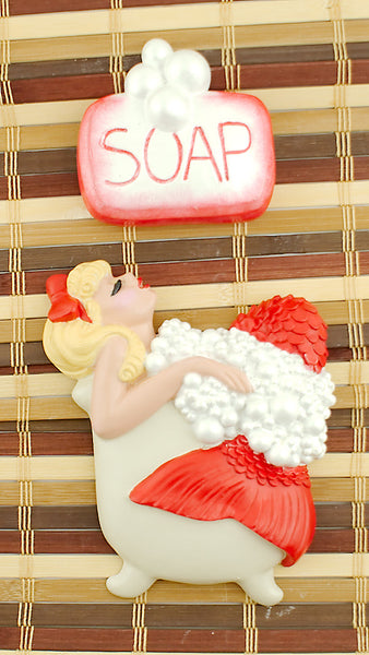 Red Blonde Bathing Beauty by Barbie K : Cats Like Us