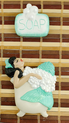 Turq Brunette Bathing Beauty by Barbie K